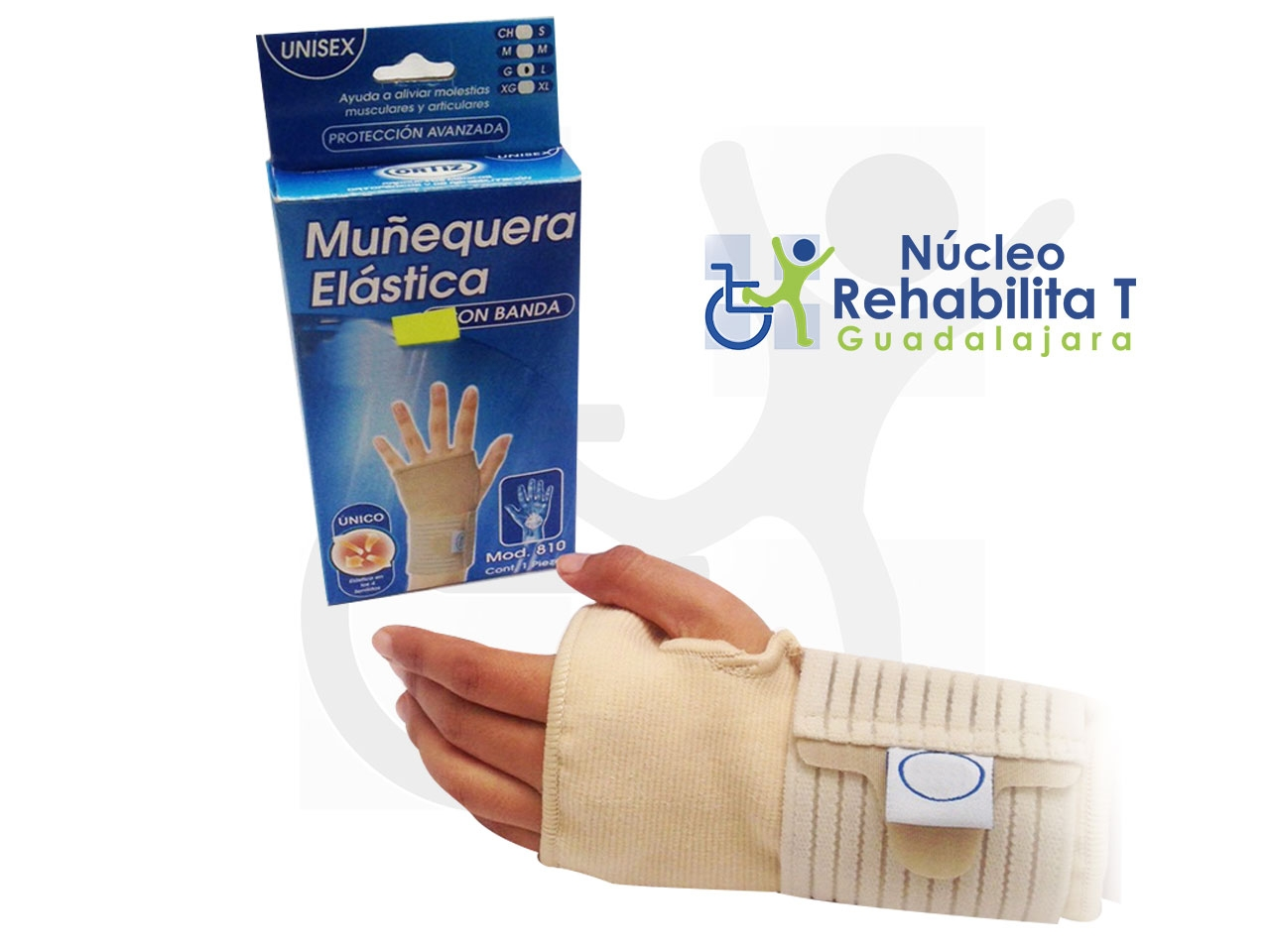 Muñequera Elástica